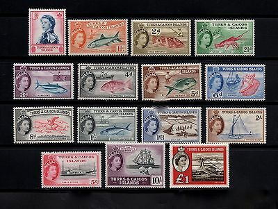 Turks and Caicos Islands stamps 121-135