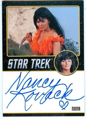 Nancy Kovack / Nona Black Autograph - Star Trek TOS 50th Anniversary