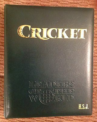 CRICKET LEADERS OF THE WORLD In Stamps - Collection In Folder