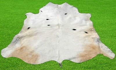 """New Calfhide Rugs Area Cow Skin Leather 12.25 sq.feet (42""""x42"""") Calfhide MB-2861"""