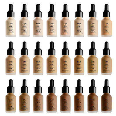 c62a2febe6e0 NYX Total Control Drop Foundation - New And Authentic - 24 color  US SHIP