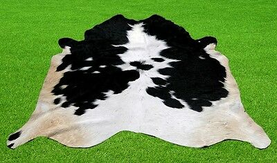 """New Calfhide Rugs Area Cow Skin Leather 11.67 sq.feet (41""""x41"""") Calfhide MB-2855"""