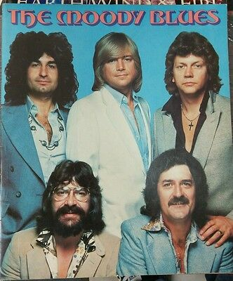 Moody Blues - Octave Tour Book 1978