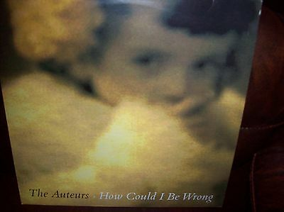 """The Auteurs 'How could I be wrong?' original 12"""" vinyl 1992"""