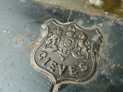Gieves (Hawkes) Metal Storage Trunk Military Naval Chest Antique