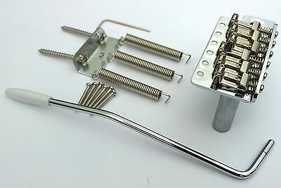 Vintage Strat style Tremolo Bridge: steel saddles: Full Size block: Stratocaster