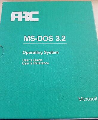 MS-DOS 3.2 Operating System, Good Condition