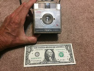 Vintage Kodak Brownie Fiesta Camera, Untested very clean inside