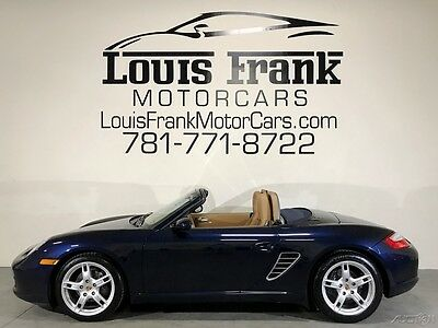2008 Porsche Boxster  ONE OWNER FROM NEW! BEST COLORS! 4 NEW CONTIS! 5 SPEED! 75K DEALER SERVICE DONE!