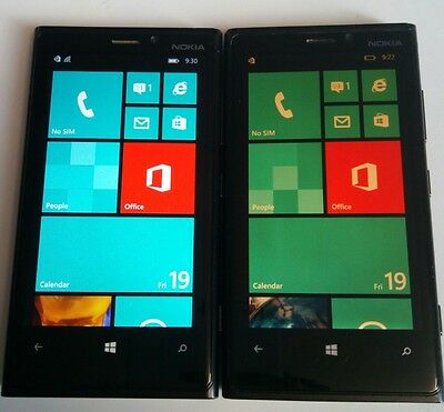 Lot of two Nokia lumia 920 check EMEI see description