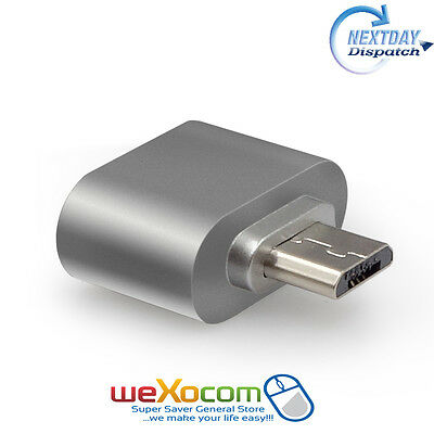 Micro USB to USB OTG Host Adapter On-The-Go Mini Host Cable Adapter
