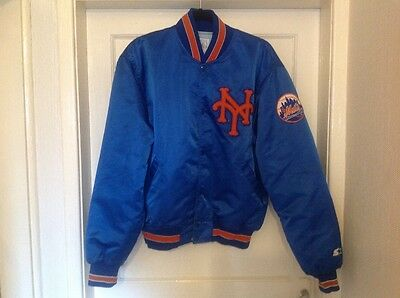 Rare Vintage New York Mets Starter jacket large/ will fit medium