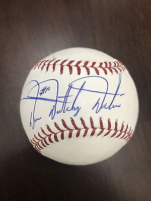 "Darren Daulton Signed  Ball W/COA Fanatics Underwraps ""Dutch"" Mike Schmidt"