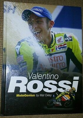 Valentino Rossi Moto Genius by Mat Oxley