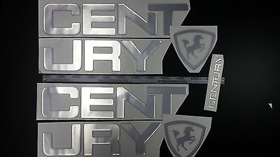 "CENTURY Boats Emblem 33"" Stickers Set"