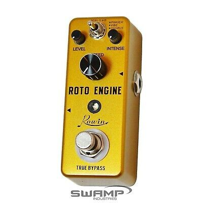 Rowin LEF-3801 - Roto Engine - Mini Guitar Rotary Speaker Simulator Pedal
