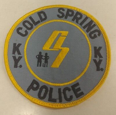 KENTUCKY Cold Spring Police Patch EXTREMELY RARE Verison