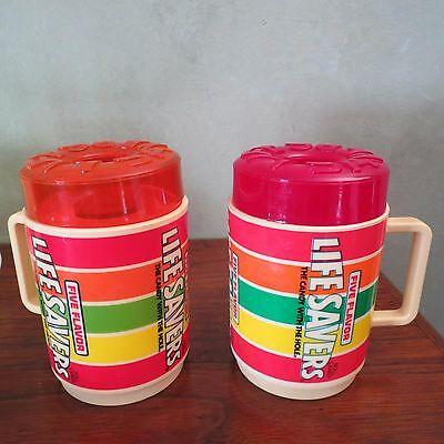 Lifesavers Plastic Mugs Vintage