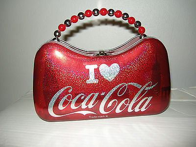 "Coca Cola Tin Purse by Tin Box Company, 8.5"" x 5"" x 3"", Brand New"