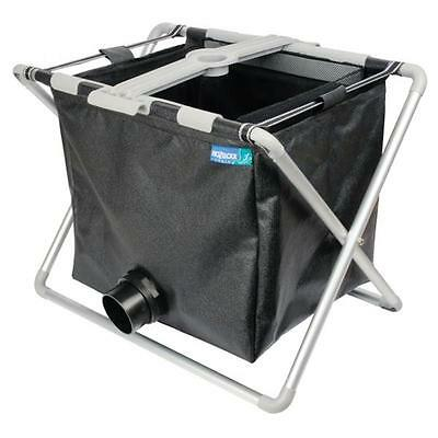 POND VACUUM COLLECTION BASKET Fold Flat For Compact Storage Water Recycle Use