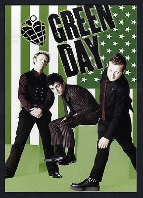 """15x Green Day """"Flag"""" - Postcard (Lot of 15 Postcards)"""