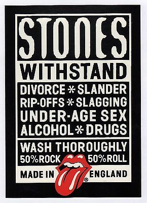 15x Rolling Stones: Withstand - Postcard (Lot of 15 Postcards)