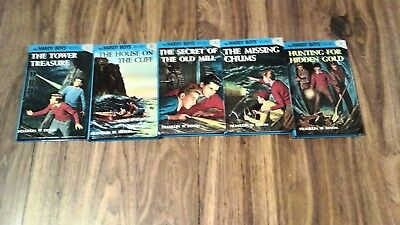 Lot of 11 books: Hardy Boys 1, 2, 3, 4, 5, 6 and  34, 53, 54, 56 , 57