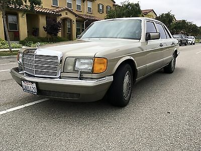 1987 Mercedes-Benz 400-Series Base Sedan 4-Door 1987 Mercedes-Benz 420SEL 2nd owner since new all books,service records.
