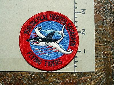 75Th Tactical Fighter Squadron - Flying Tigers - Usaf Patch - Must See