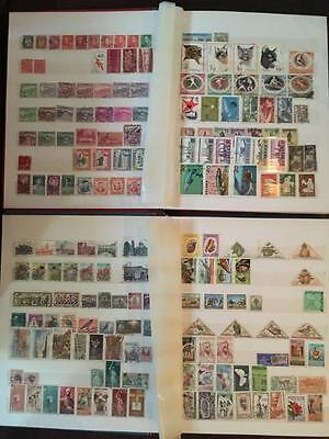 Stamp collection Australian and world stamps