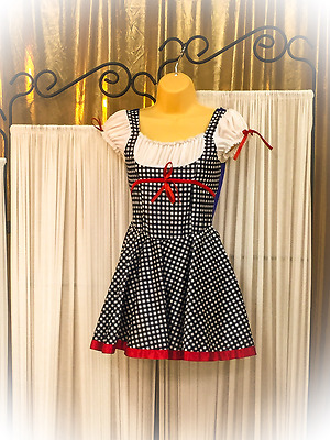 Wizard of Oz Dorothy Dance Costume (with built in Leo)