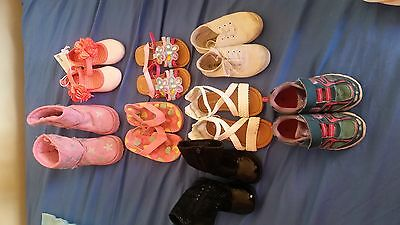 Girls bulk shoes size 6-7 new and used