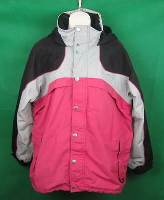 Aggression Extreme Ladies Pink Ski Jacket Size 18