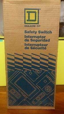 NIB Schneider Electric / Square D HU361RB Heavy Duty Safety Switch Unopened Box