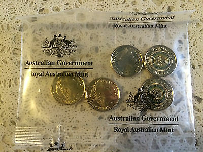 2017 $2 - Lest We Forget  ANZAC coins x 5 sealed RAM bag