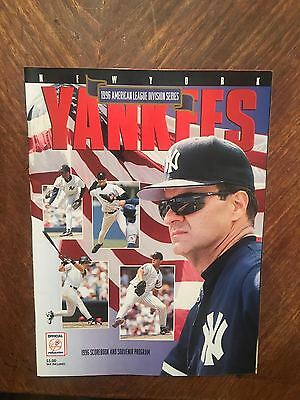 1996 ALDS New York Yankees Program