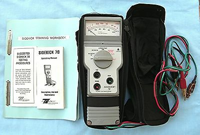 Tempo Research Sidekick 7B Cable Tester  with 3 Manuals and case