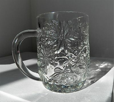 """Excellent Fantasia Pattern Princess House Crystal Glass Mugs 4"""" #516  Id5178631"""