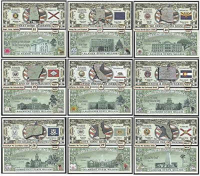 YOU CHOOSE Your Favorite 20 Assorted Collectible Funny Money Novelty Notes