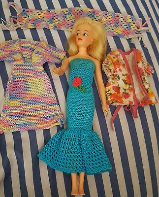 vintage 12in. ideal toy 1965 glamour Misty doll-barbie size