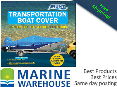 TRAILERABLE BOAT COVER - Several Sizes