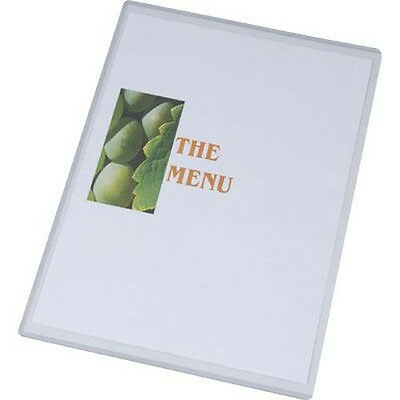 Bulk Pack A3 Menu Holders Pack Of 100 Free Post With Packs Of 100