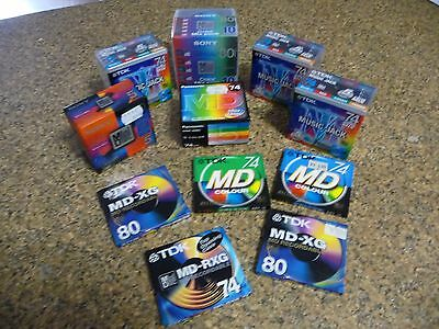 Minidisc Blanks - Recordable - Huge Lot Of 40 discs. Rarely Offered.