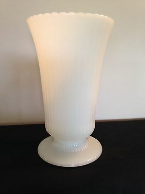 E.O. Brody Co. Vintage Mid Century Milk Glass Vase M5200 NOW 30% OFF PRICE!
