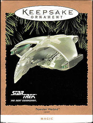 Hallmark Keepsake Ornment-Star Trek The Next Generation-Romulan Warbird (1995)