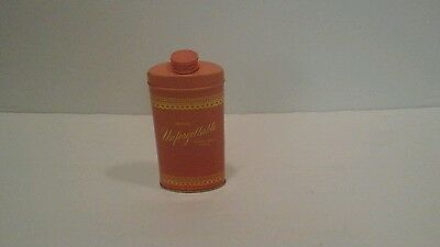 Vintage Tin Can Avon Unforgettable Perfumed Talc Powder Full