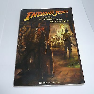 Indiana Jones and the Pyramid of the Sorcerer by Ryder Windham (Paperback /...