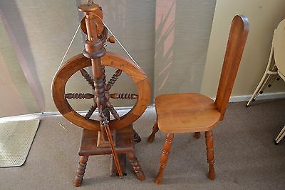 "Spinning Wheel Upright & Spinners Chair   "" Buy It Now """