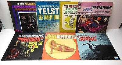 The Ventures Record Vinyl LP Lot of 7 Golden Greats Surfing Horse +++ FAST SHIP