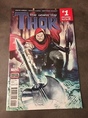 UNWORTHY THOR #1 (OF 5)!! FIRST PRINT from MARVEL COMICS!!!